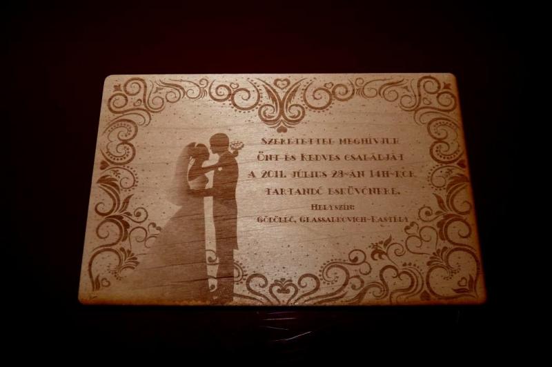 475619d656 Esküvői meghívó, ültető